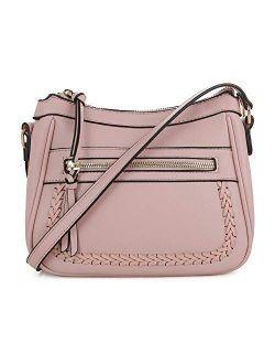 EMPERIA Elva Vegan Leather Crossbody Bag Purse for Woman