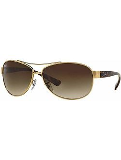 Sunglasses - Rb3386 / Frame: Gold Lens: Brown Gradient (63mm)