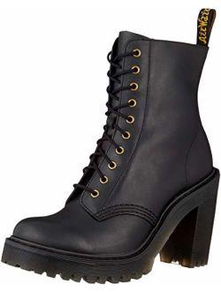 Black Kendra Fashion High Heel Boots