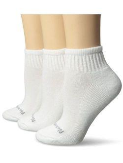 No Nonsense Women's Ahh Said The Foot Quarter Top Half Cushion 3-Pack