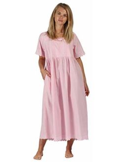The 1 for U Nightgown 100% Cotton + Pockets XS-3XL Helena