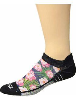 Zensah Limited Edition No-Show Running Socks - Anti-Blister Comfortable Moisture Wicking Sport Socks for Men and Women