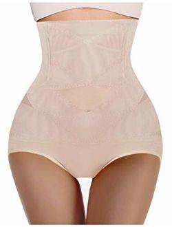 Women Butt Lifter Shapewear Hi-waist Double Tummy Control Panty Waist Trainer Body Shaper