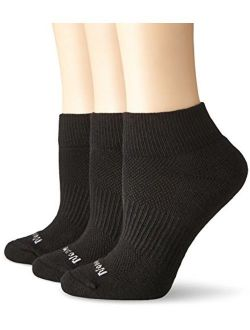 No nonsense Women's Soft & Breathable Cushioned Quarter Top Socks, 3 Pair Pack