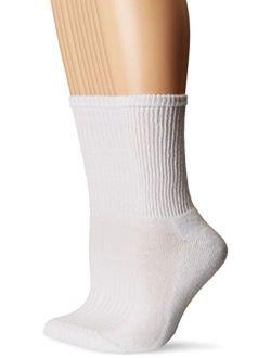 Women's Half Cushion Crew Socks, 10 Pairs