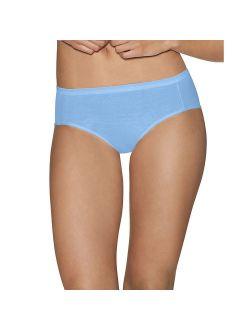 Ultimate Comfort Cotton Women's Hipster Panties 5-pack - 41hucc