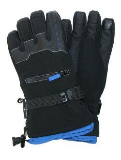 Grand Sierra Bec-Tec Texting Snow Glove with Zippered Pocket (Men's)