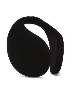 Top Headwear Wrap Around Fleece Ear Muff, Black