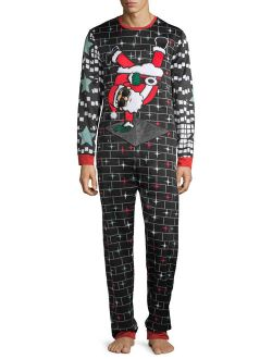 Holiday Time Men's Ugly Christmas Union Suit