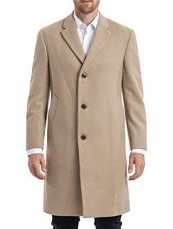 Chaps Men's Classic Topcoat