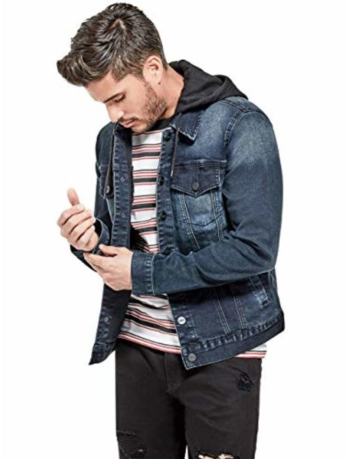 Quality Durables Co Mens Regular Fit Stretch Corduroy Jacket Coat