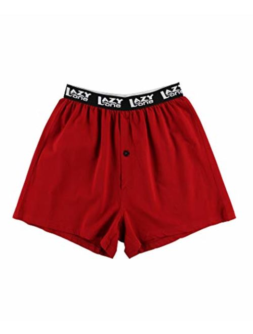 Lazy One Funny Boxers, Novelty Boxer Shorts, Humorous Underwear, Gag Gifts for Men