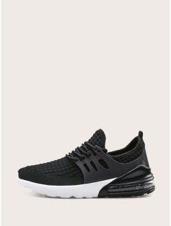 Men Lace-up Front Non-slip Sneakers
