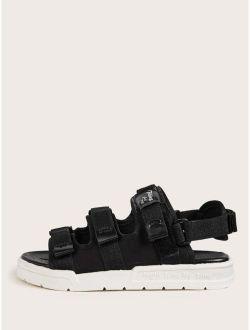 Velcro Strap Sandals