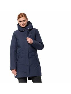 Jack Wolfskin Women's Monterey Bay Waterproof 3-in-1 Insulated Long Jacket