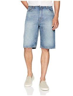 Men's 569 Loose Straight Denim Shorts, Clean Groovin, 38