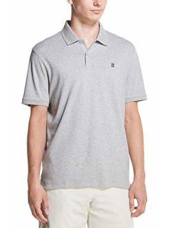 Men's Solid Short Sleeve Supima Cotton Polo Shirt