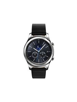 Watch - Gear S3 Classic Lte - Silver Black Leather Band - At&t
