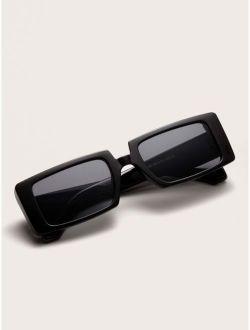 Acrylic Frame Rectangle Sunglasses