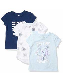- Spotted Zebra Girls Disney Star Wars Marvel Frozen Princess Short-sleeve T-shirts