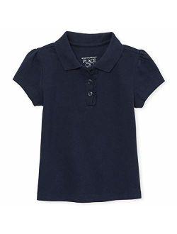 Girls' Toddler Short Sleeve Uniform Polo