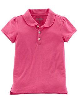 Girls' Short-sleeve Uniform Polo