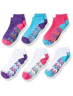 Girl's 6-pair Low Cut Socks