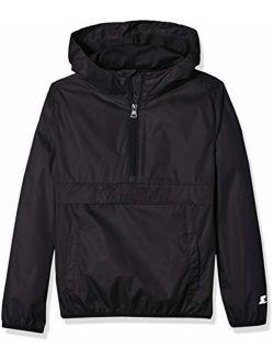 Starter Girls' Popover Packable Jacket, Amazon Exclusive