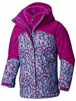 Girls Bugaboo Ii Fleece Interchange Jacket, Thermal Reflective Warmth
