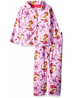 Girls' Fancy Nancy 2-piece Pajama Coat Set