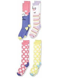 - Spotted Zebra Girl's 4-pack Knee Socks