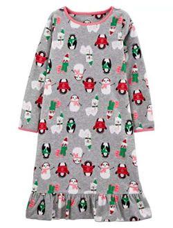 Carter's Girls' Fleece Gowns 377g139