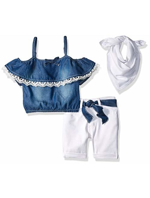 Limited Too Girls' Fashion Top and Short Set