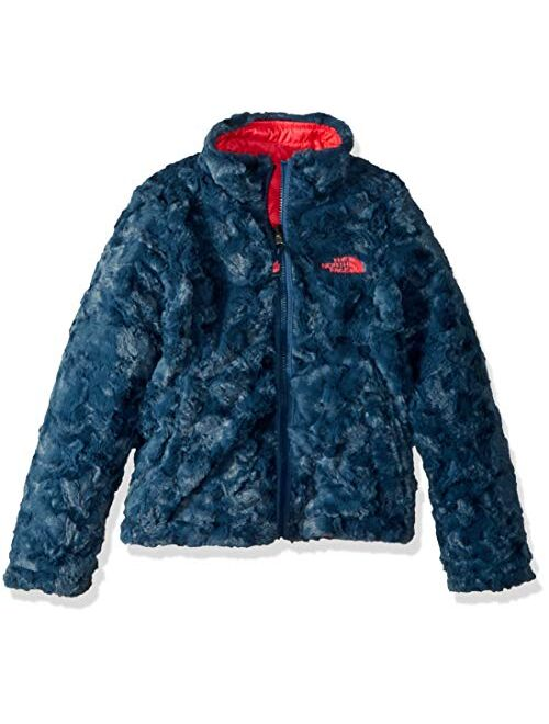 The North Face Kids Girls' Reversible Mossbud Swirl Jacket (Little