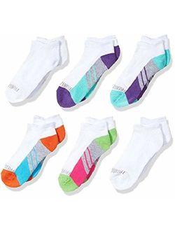 Big Girls' 6 Pack Low Cut Socks