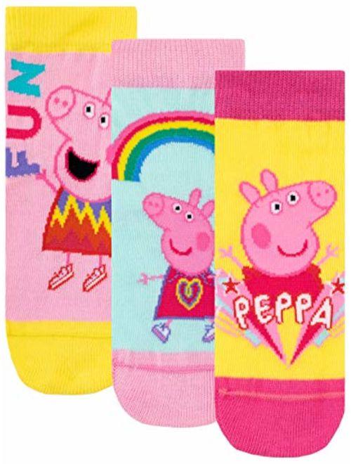 Peppa Pig Girls' Socks Pack of 3