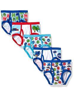 PJ Masks Boys' 5-Pack Brief Underwear