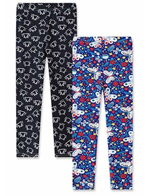 Stretch Pants Sheecute Girls 2-Pack Leggings Leggings for Girls Size 3-12
