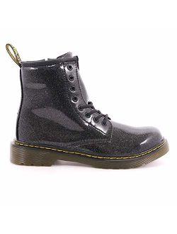 Kid's Collection Girl's 1460 Patent Glitter Junior Delaney Boot (little Kid/big Kid)
