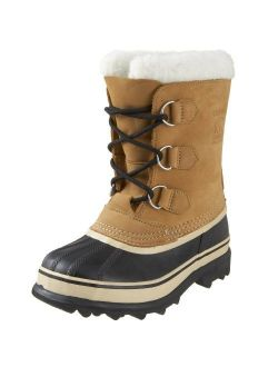- Youth Caribou Waterproof Winter Boot For Kids With Fur Snow Cuff
