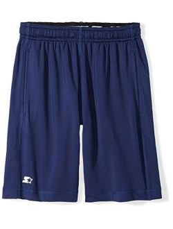 """Starter Boys' 8"""" Stretch Training Short with Pockets, Amazon Exclusive"""
