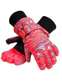Galexia Zero Kids Winter Gloves Waterproof Snow Ski Gloves