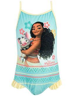 Princess Girls' Moana Swimsuit