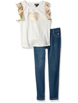 Girls' Fashion Top And Pant Set (more Styles Available)