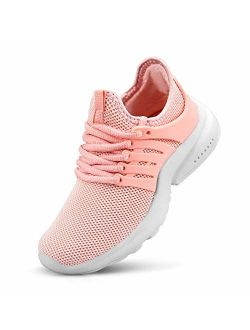 NYZNIA Boys Girls Shoes Tennis Running Lightweight Breathable Sneakers for Kids
