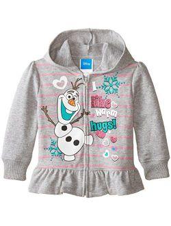 Girls' Frozen Graceful Elsa Hoodie Sweatshirt