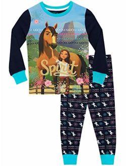 DreamWorks Girls' Spirit Riding Free Pajamas