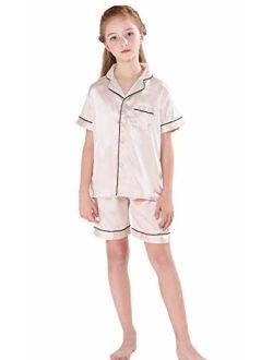 Horcute Pajamas Little Kid Sleepwears Set Pjs Clothes Short Sleeve