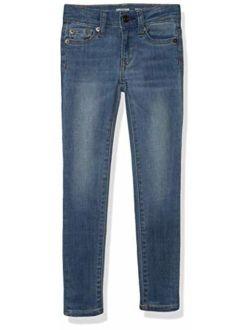 Girls Skinny Stretch Jeans