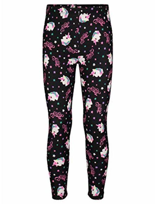 Jojo Siwa Girls Fleece Long Sleeve Shirt & Leggings Outfit Clothing Set